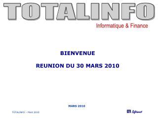 TOTALINFO   Mars 2010