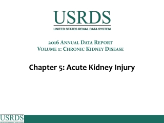 Acute Kidney Injury: Nephrology Nursing in the Acute Care Setting