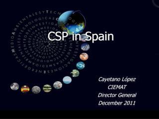CSP in Spain