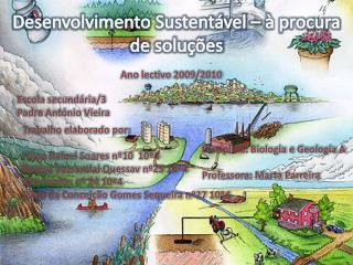 Desenvolvimento Sustent vel     procura de solu  es