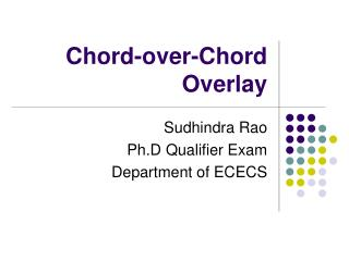 Chord-over-Chord Overlay