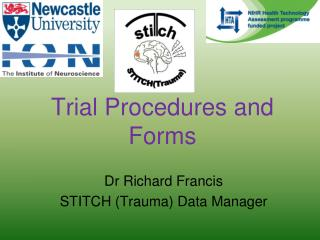 Trial Procedures and Forms