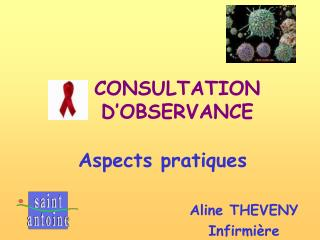 CONSULTATION D OBSERVANCE