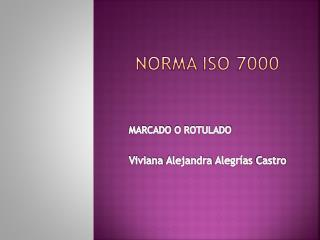 NORMA ISO 7000