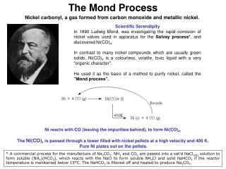 The Mond Process
