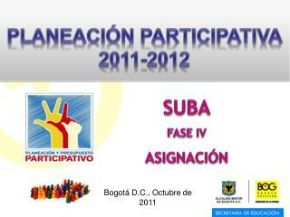 Bogot  D.C., Octubre de 2011