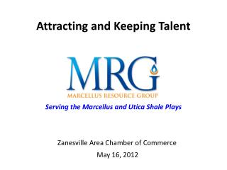 Zanesville Area Chamber of Commerce  May 16, 2012
