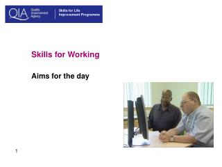 Skills for Working