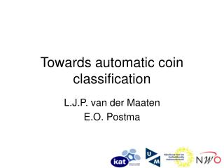Towards automatic coin classification