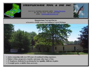 STEEPLECHASE TOOL AND DIE