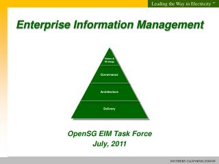 Enterprise Information Management