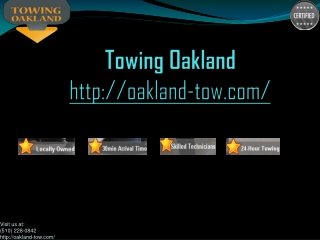 oakland towing