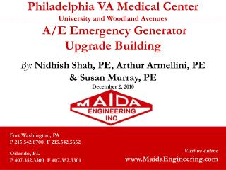 Philadelphia VA Medical Center University and Woodland Avenues  A