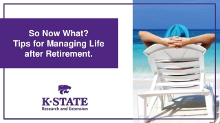 Retirement and Healthy Aging