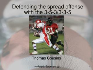 Defending the spread offense with the 3-5-3