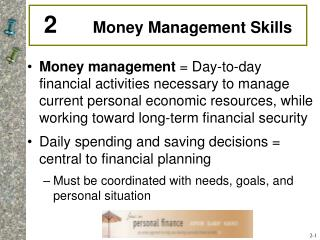 2       Money Management Skills