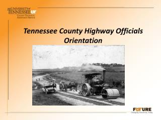 Tennessee County Highway Officials Orientation