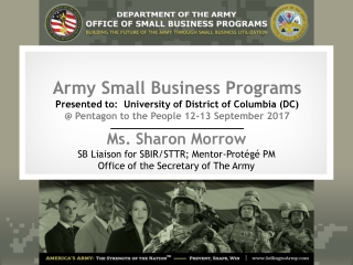The National Science Foundation  Small Business Innovation Research SBIR Small Business Technology Transfer STTR Program