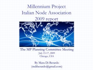Millennium Project  Italian Node Association  2009 report