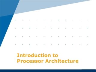 Module 3 Instruction Set Architecture ISA: ISA Level Elements of Instructions Instructions Types Number of Addresses Reg