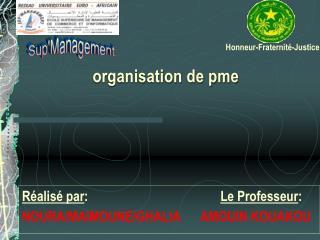 Organisation de pme