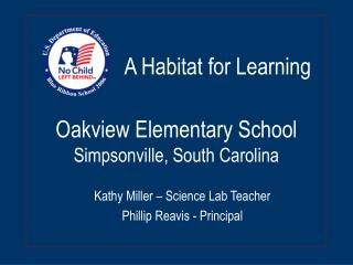 Oakview Elementary School Simpsonville, South Carolina