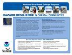 HAZARD RESILIENCE IN COASTAL COMMUNITIES
