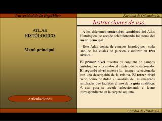 C tedra de Histolog a.