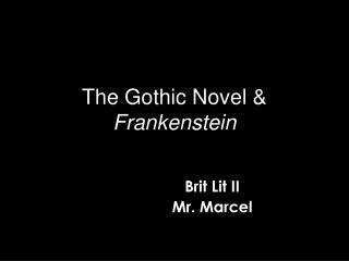 The Gothic Novel  Frankenstein
