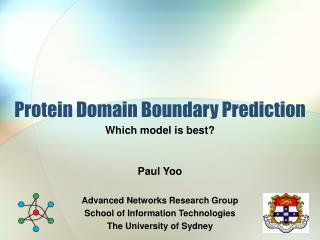 Protein Domain Boundary Prediction