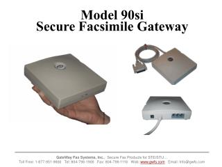 Model 90si Secure Facsimile Gateway