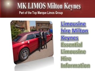 Limousine Hire Milton Keynes