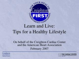 Learn and Live: Tips for a Healthy Lifestyle