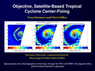 Objective, Satellite-Based Tropical Cyclone Center-Fixing