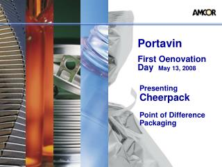 Presenting Cheerpack   Point of Difference Packaging