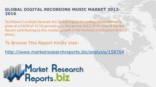 Worldwide Digital Recording Music Size And Share 2012-2016:M