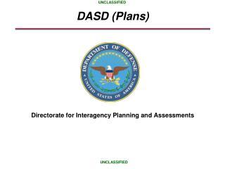 DASD Plans