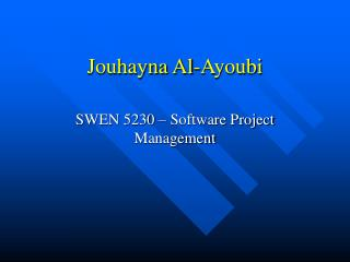 Jouhayna Al-Ayoubi