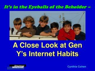 It s in the Eyeballs of the Beholder