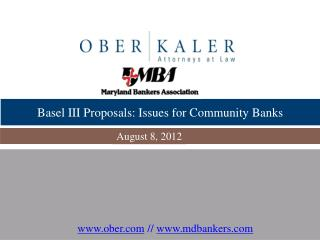 Basel III Proposals: Issues for Community Banks