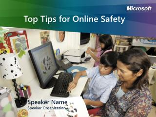 Top Tips for Online Safety
