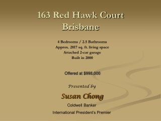 163 Red Hawk Court Brisbane