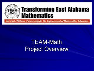 TEAM-Math Project Overview