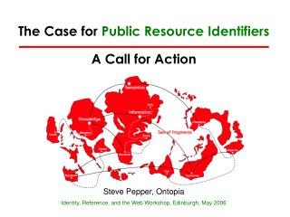 The Case for Public Resource Identifiers A Call for Action