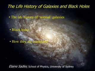 The Life History of Stars