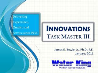 Innovations Task Master III