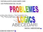 PROBLEMES  L GICS