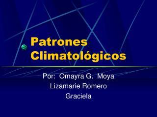 Patrones Climatol gicos