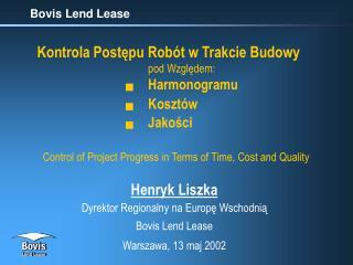 Bovis Lend Lease
