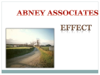 Abney Associates-Effect